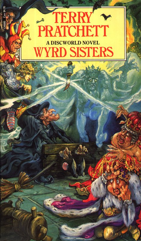 Wyrd Sisters is the first novel focused around the witches, and builds on the Witch characters introduced in equal rites.