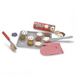 Melissa & Doug wooden toy cookie set