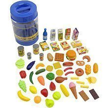 85 piece toy food set from Toys R Us