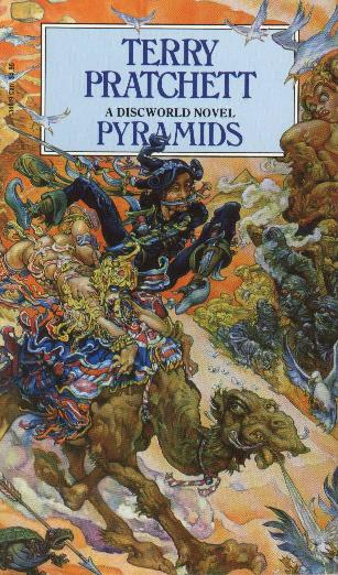 The Discworld book Pyramids is an excellent read for those not too familiar with the Discworld series.
