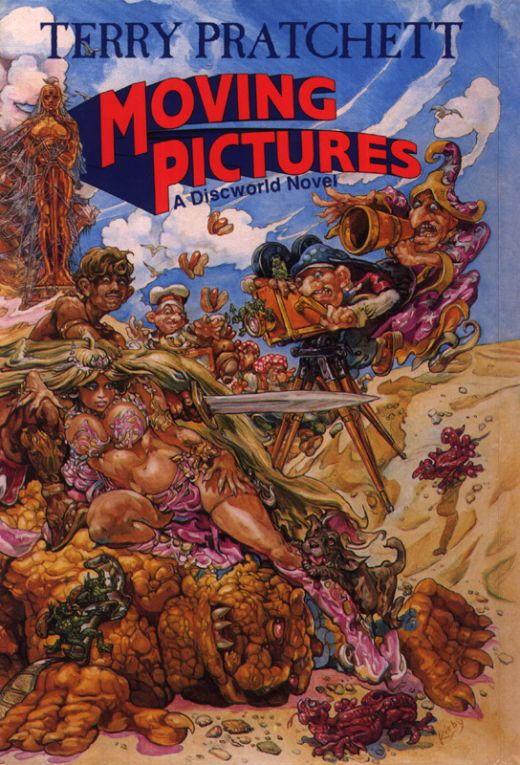Moving Pictures brings a little bit of Hollywood (Or Holy Wood) to the Discworld books.