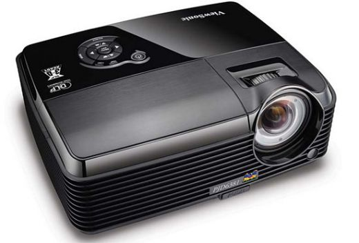 The ViewSonic PJD6381 projector