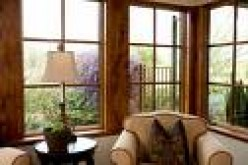 A warm example of color-through fiberglass replacement windows