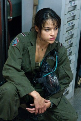 Military pilot assigned to the Avatar program.
