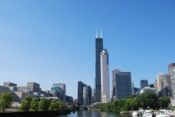 United States' Willis Tower ranks fourth tallest building in the world.