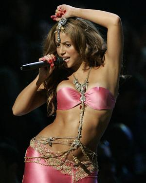 You can sing while dancing too, that's the best,   SHAKIRA