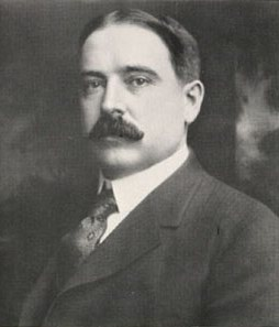 Richard Warren Sears (1863-1914). He was a railroad station master that purchased an unwanted shipment of watches and sold them up and down the rail line at a profit. He then formed a mail order catalogue business and followed with free standing stor