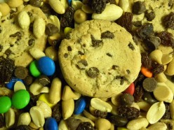 Chocolate chip cookie, candy, nuts... Do you think comfort?  hunger?  happiness?