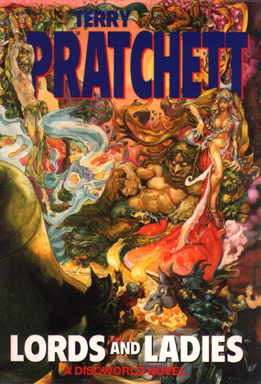 Lords and Ladies brings a touch more fantasy the Discworld books.