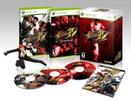 Street Fighter 4 boxes
