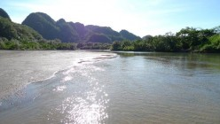 mouth of the river in Paniman, Caramoan (Photo courtesy of Roy Lachica)