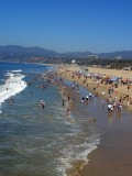 Santa Monica Beach, California (Photo courtesy of http://pdphoto.org/index.php)