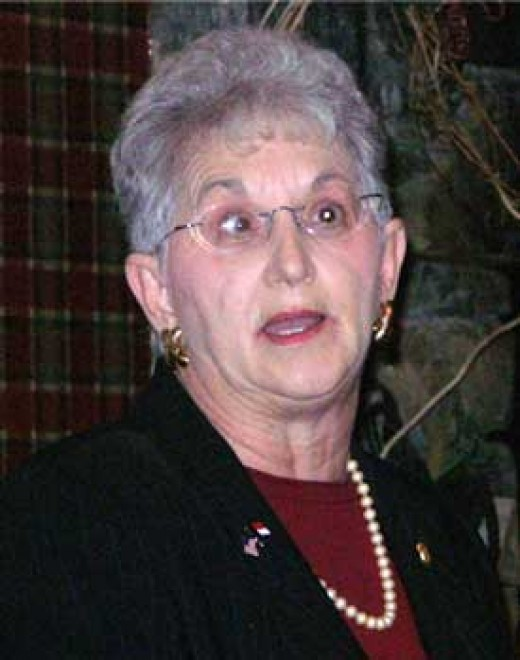 Congresswoman Virginia Foxx, Republican from North Carolina