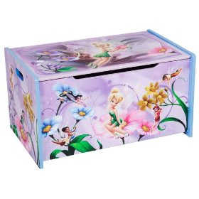 Disney Fairies toy box for girls