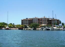 Costa Bonita Marina Resort - Sabalo Estuary, Mazatlan - Hard to find, but a well protected and quiet marina