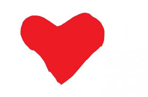 Valentines Day Love Heart.