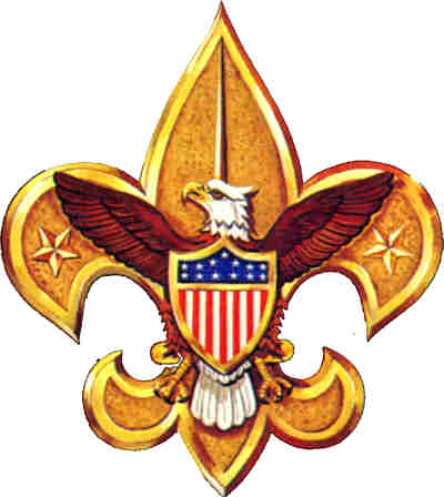 The Fleur de Lis is a symbol of the BSA