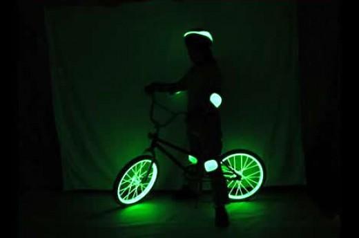 glowing bike kits available at www.ellumiglow.com
