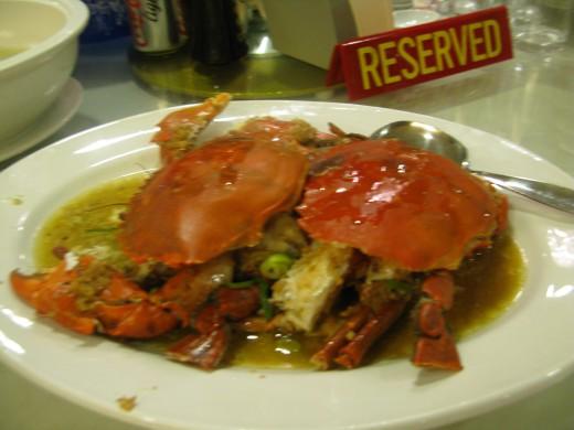 Fresh Crab at Seafood Row