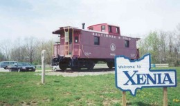 Xenia Station is mile post 0.0 of the Little Miami Scenic Trail.