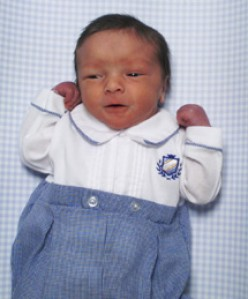 Baby Samuel Alexander Armas