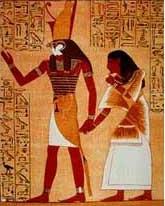 Horus the Falcon God