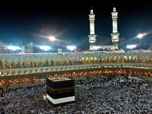 Mecca during the Haj Photo: ForUrEyeSOnly