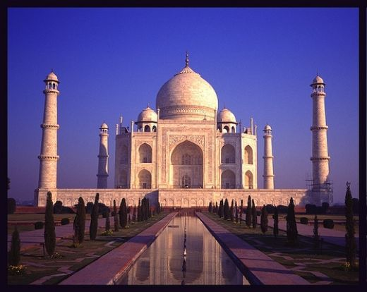 Taj Mahal, India Photo: slaptaxi