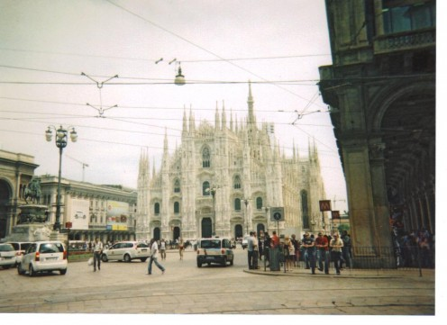 The square with the Duomo