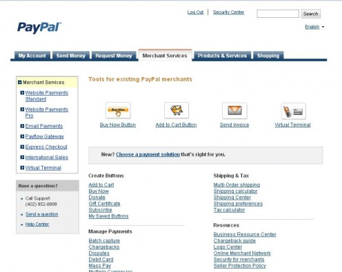 how to create an invoice via paypal