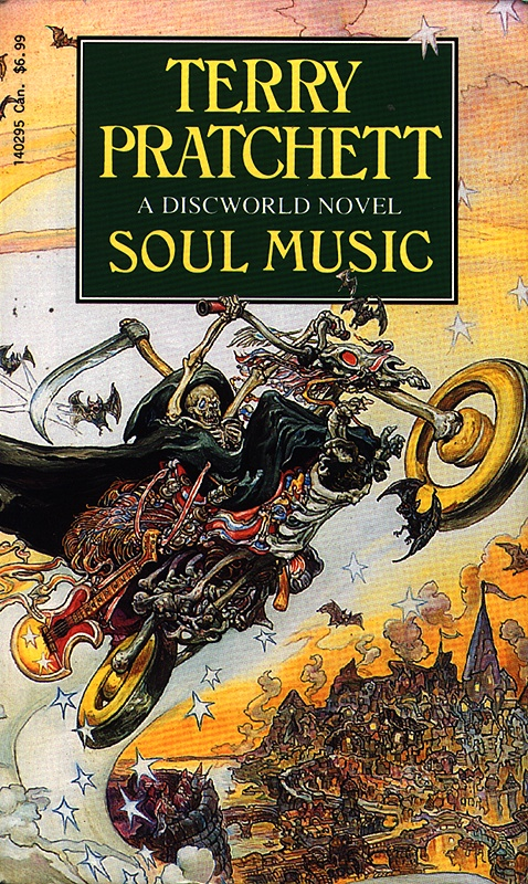 Soul Music brings rock and roll to the Discworld series.