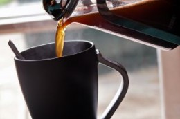 Enjoy a good cup of hot, spiced coffee