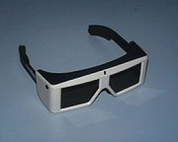 LCD crystal shutter glasses