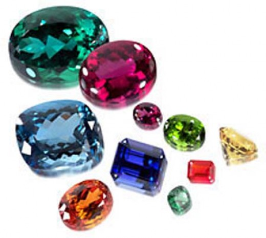 Fabulous Faceted Gems from jewelryexport.com