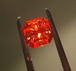 Padparadscha Sapphire from wikimedia.commons