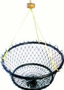 Ring trap with harness and float