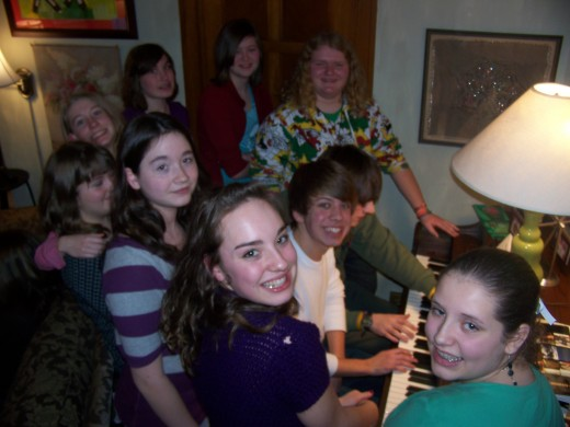 Boys, learn how to play the piano.  Girls love musicians!
