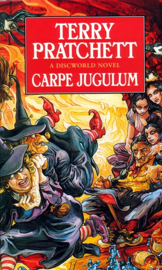 Carpe Jugulum brings the Witches back for another great Discworld adventure.