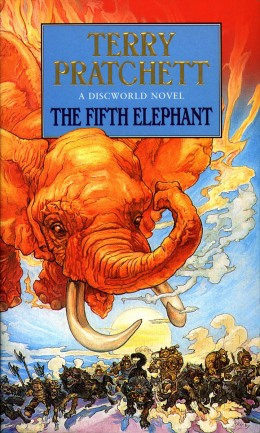 The Fifth Elephant sees Sam Vimes and an entourage sent in to Uberwald on a diplomatic mission.