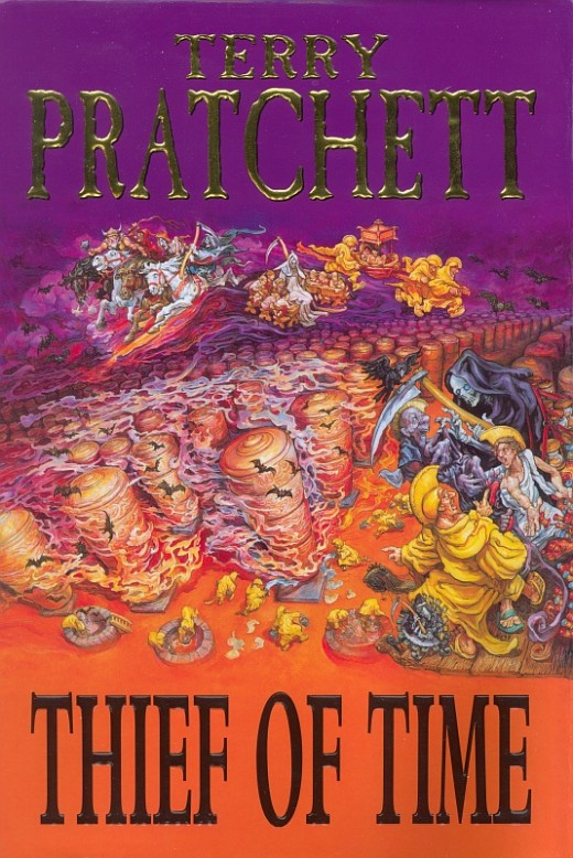 The Thief of Time follows another tale from the Discworld!