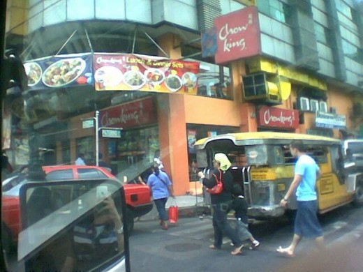 A Typical Philippine Street Scene (Find me.. hehe..)