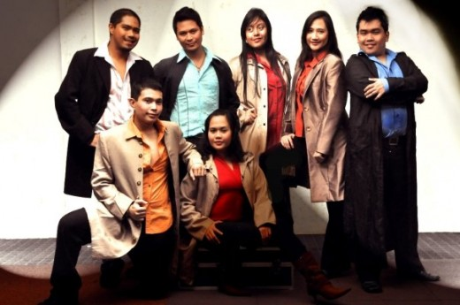 Top (L-R)Jingle, Benjie, Crystal, Michelle and Clark. Bottom (L-R) Marc and Johanna