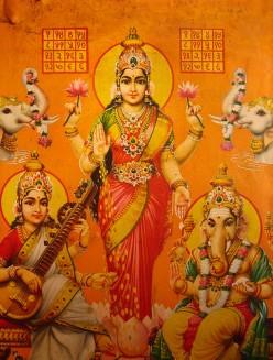Lakshmi Healing Goddess