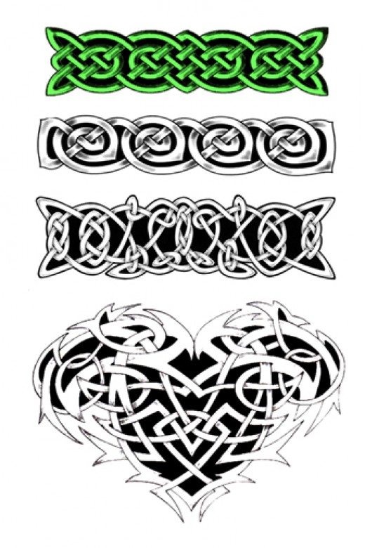 Celtic Tattoo Art.    Image copyright http://www.andhrapradeshstate.in/wp-content/uploads/2009/04/celtic-tattoo-armbands-1.jpg 2010.