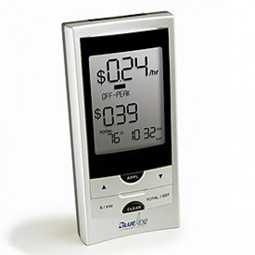 Blue Line PowerCost Monitor and Energy Meter II | image credit: SmartHome.com