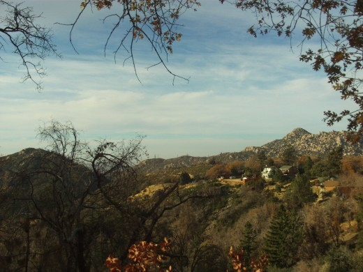Talking a walk and looking at the very spectacular Pinnacles in the San Bernardino Mountains.