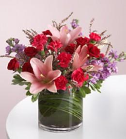 "Valentine ""Be mine"" bouquet 1800flowers.com"
