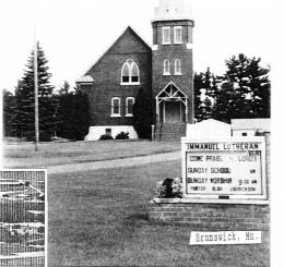 Immanuel Lutheran church in Brunswick