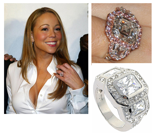 Mariah Carey's Diamond Engagement Ring