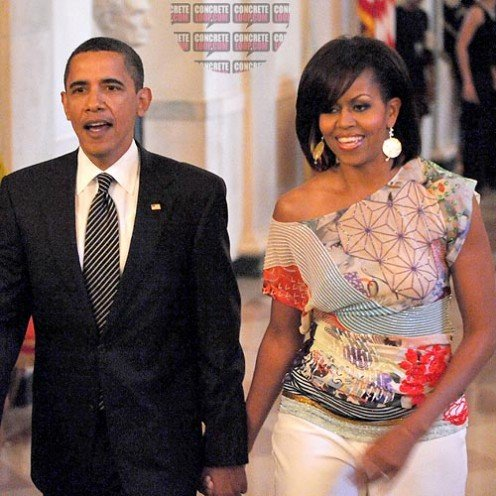 President Obama & 1st Lady Michelle Obama